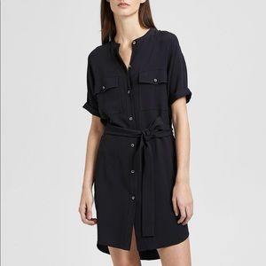 THEORY belted cargo dress NWOT